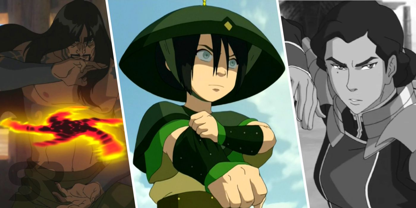 Avatar Every Power Earthbenders Have Screen Rant Earthbending is based on hung gar kung fu (except for toph, which is praying mantis based, apparently). avatar every power earthbenders have