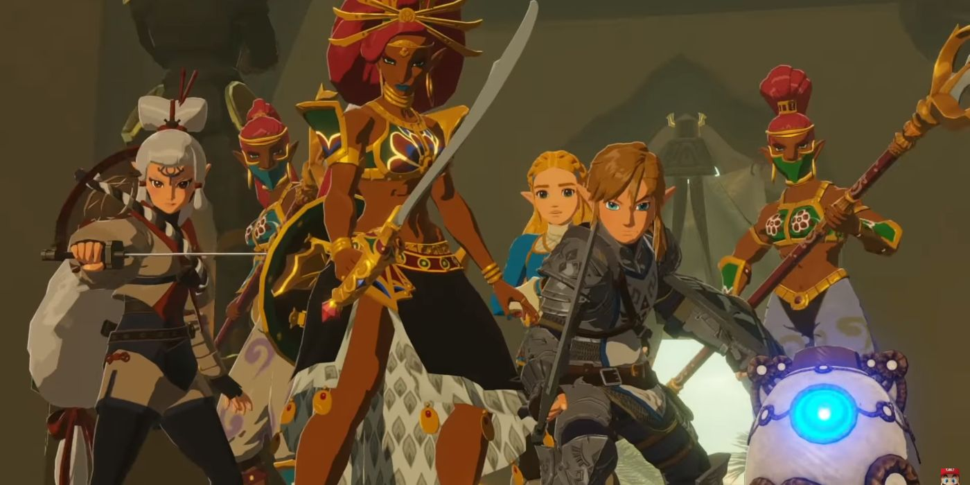 Hyrule Warriors Age Of Calamity May Be Getting A Switch Demo