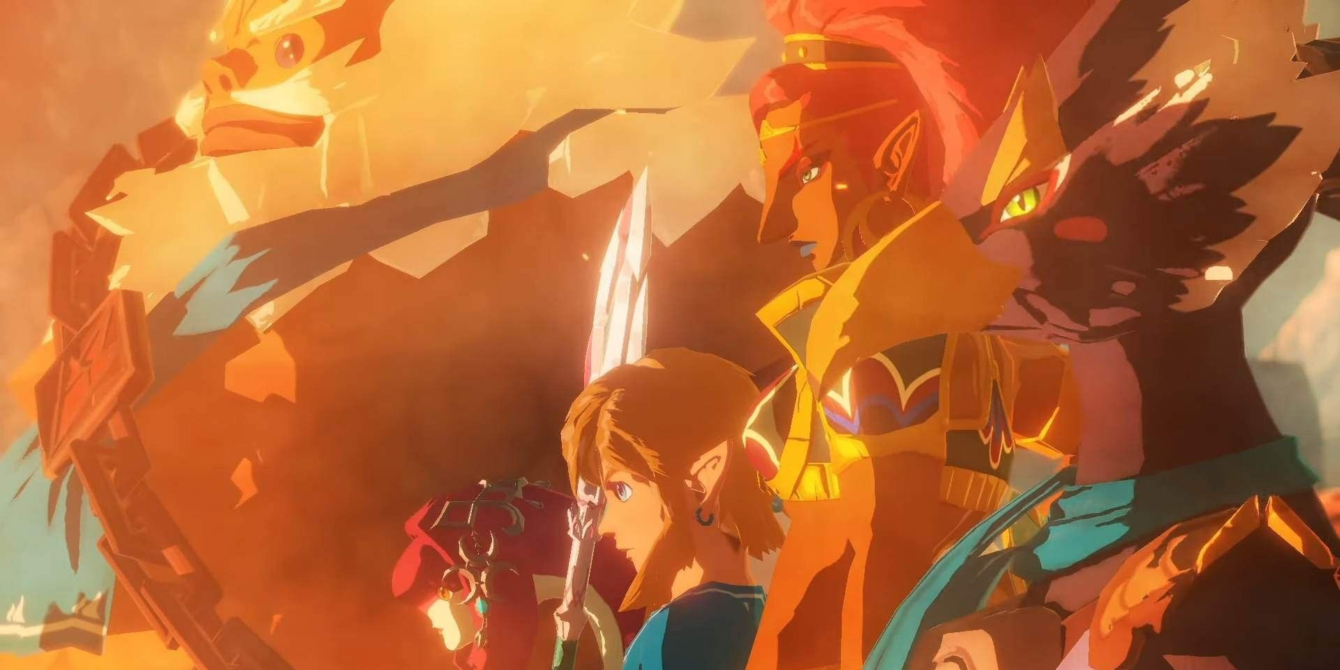 Hyrule Warriors Age Of Calamity How Gameplay Differs From Breath Of The Wild