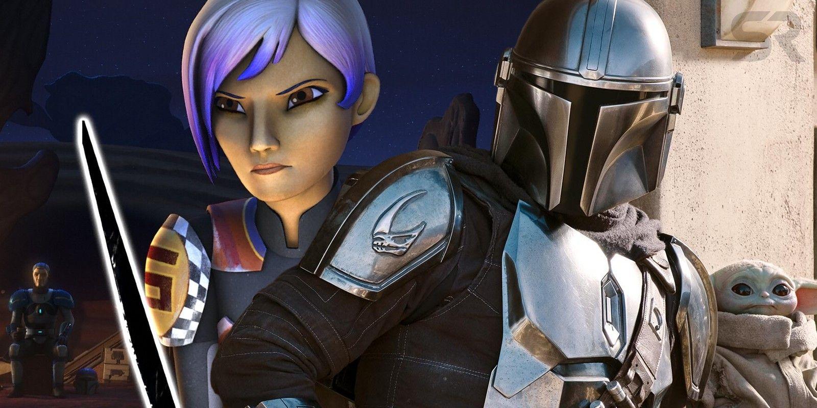 Mandalorian Theory Star Wars Rebels Sabine Is In The Season 2 Trailer