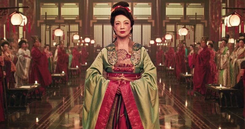 Get A Better Look At Ming Na Wen S Mulan Movie Cameo In Set Photos