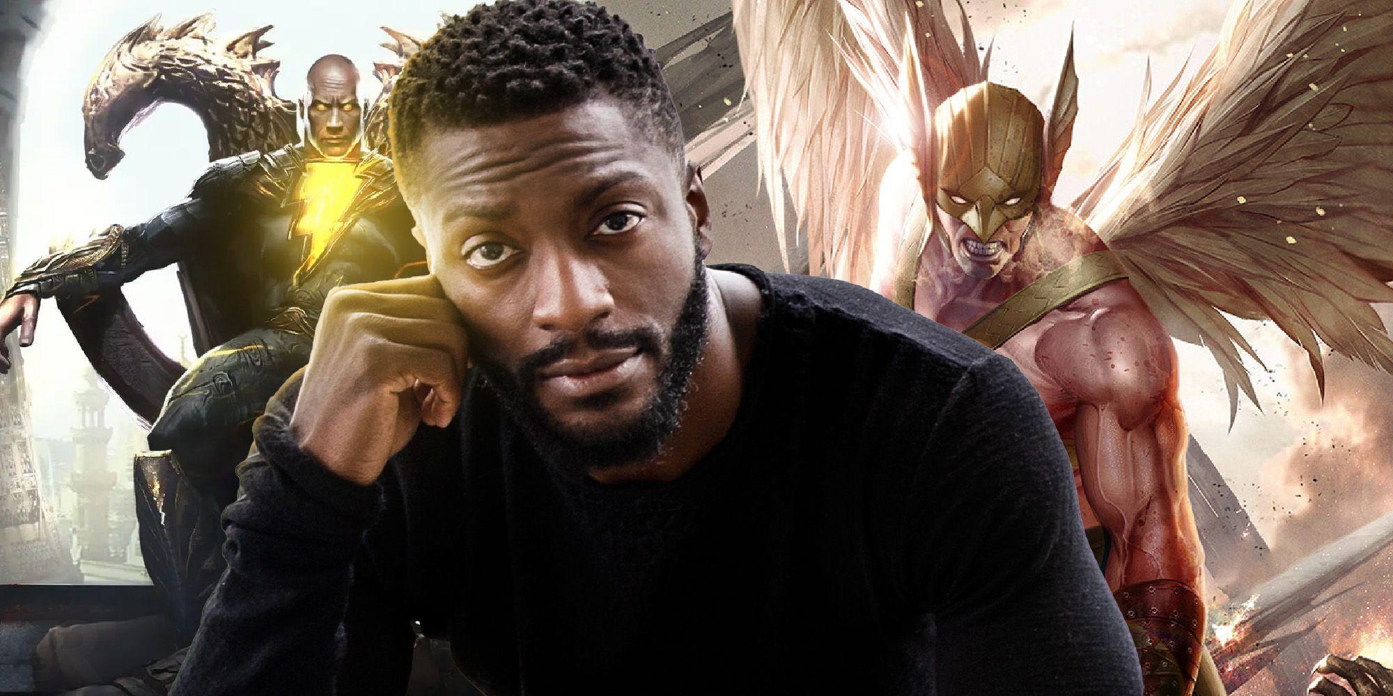 Black Adam: Aldis Hodge Inspired By Co-Star Dwayne Johnson's Career