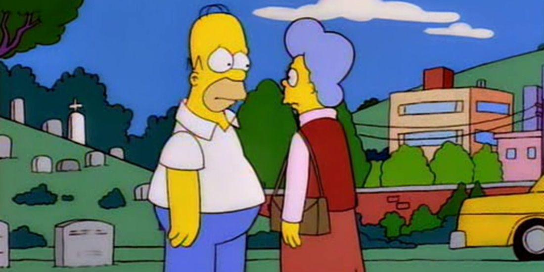 Os Simpsons: 10 momentos clássicos com a 'Vovó Simpson' 3