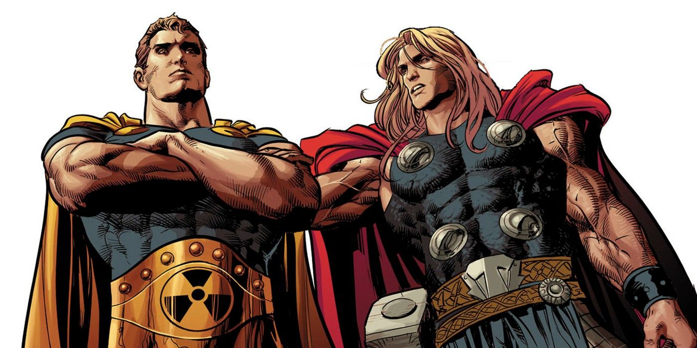 Who Is Hyperion Marvel S Version Of Superman Explained Theflick