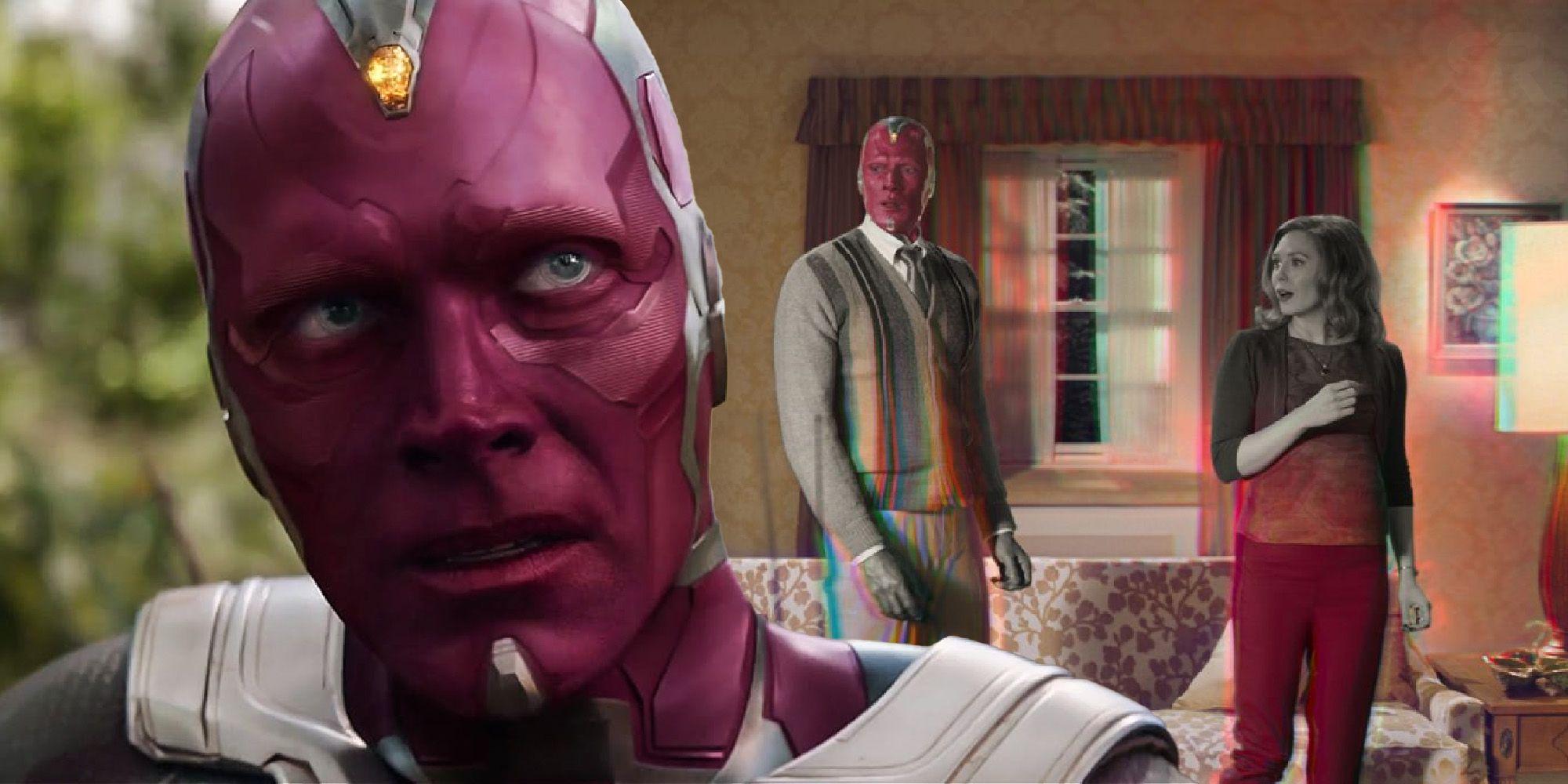 WandaVision Theory: How Vision Has The Mind Stone (Despite Infinity War)