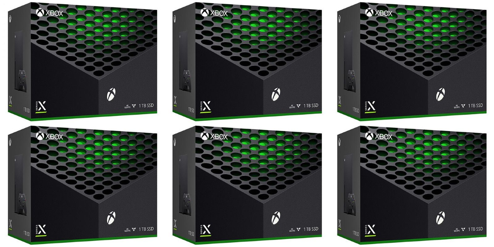 Xbox Series X Retail Listing Shows Off Box Art And Console Design