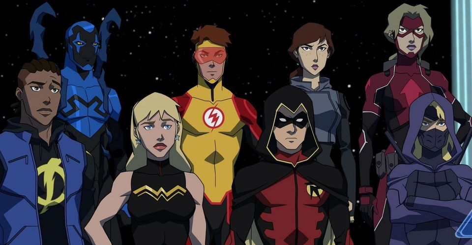 is young justice on netflix hulu or