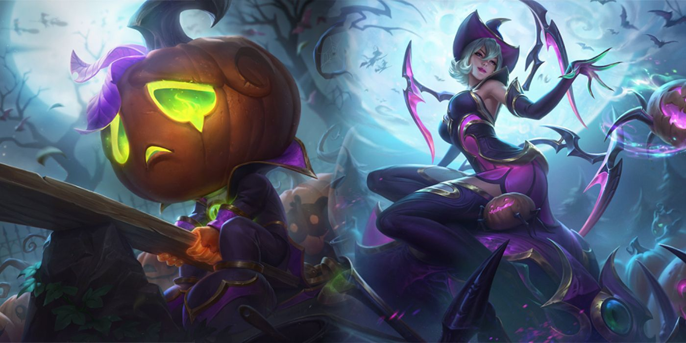 Halloween League Skins 2020 League Of Legends Halloween 2020 Skins Possibly Revealed Early In Leak