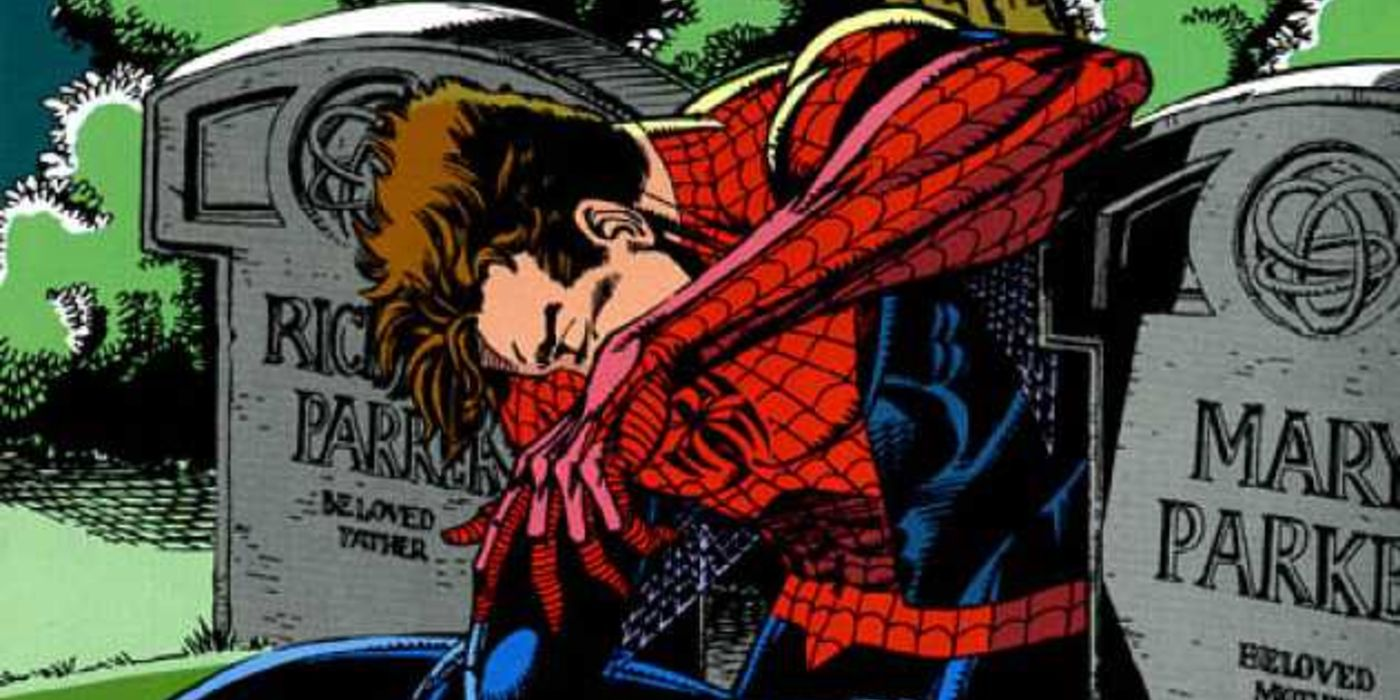 Spider-Man's Parents Were Killed By Another Avenger   Screen Rant