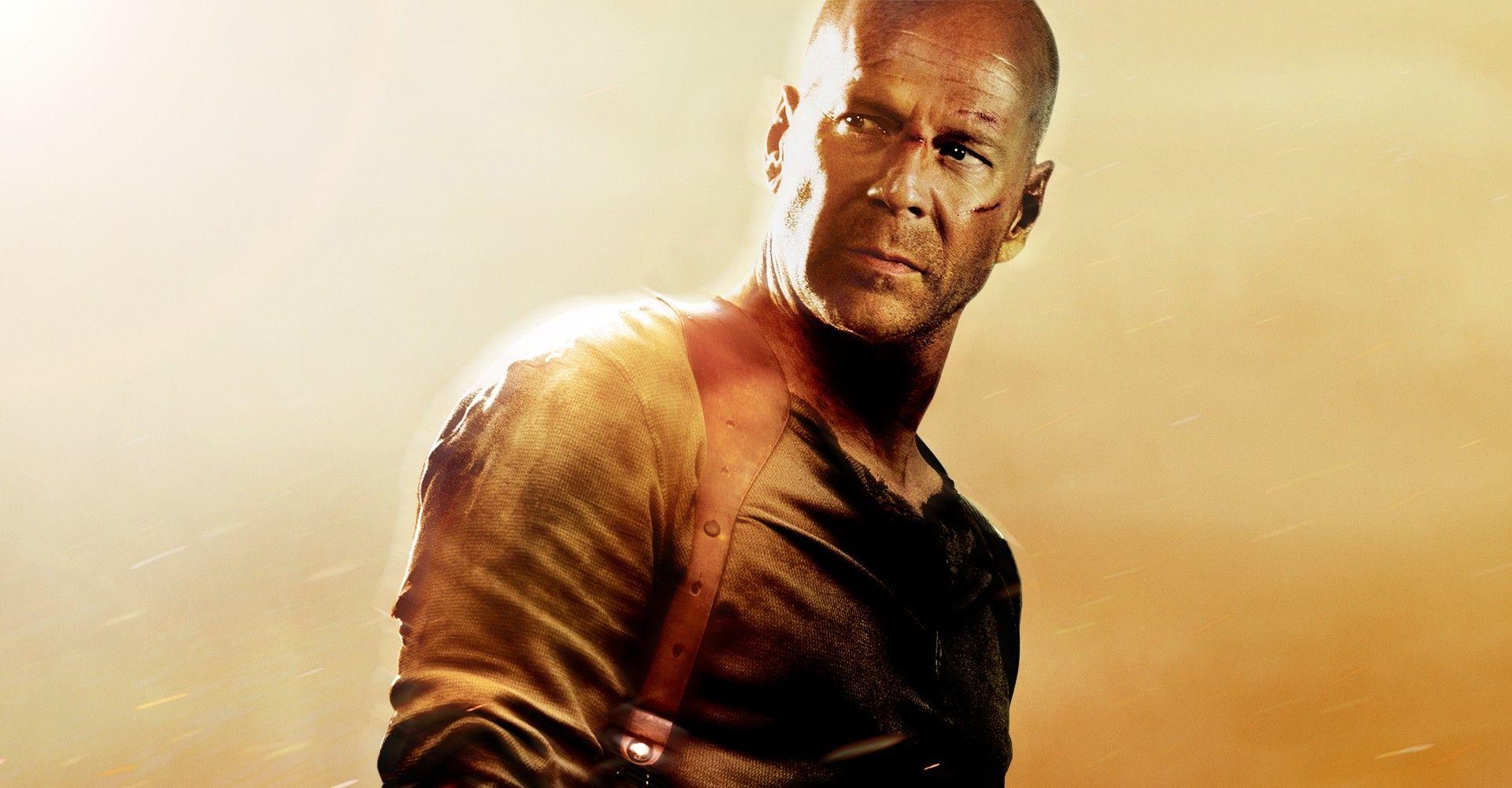 Bruce Willis Live Free or Die Hard.'