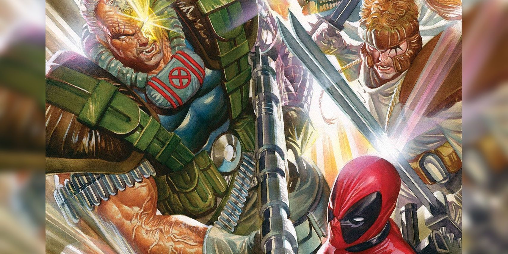 Deadpool & Cable Get 'Realistic' Art From Alex Ross | Screen Rant