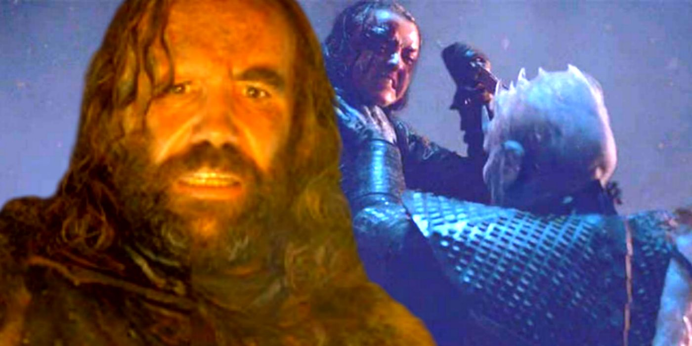 Game of Thrones: The Hound Almost Killed The Night King