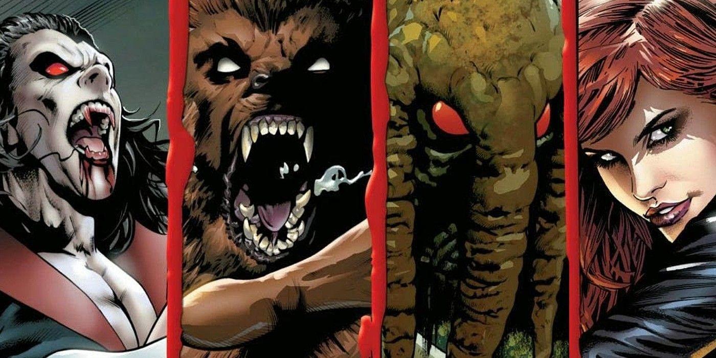 Memebrs of the Legion of Monsters