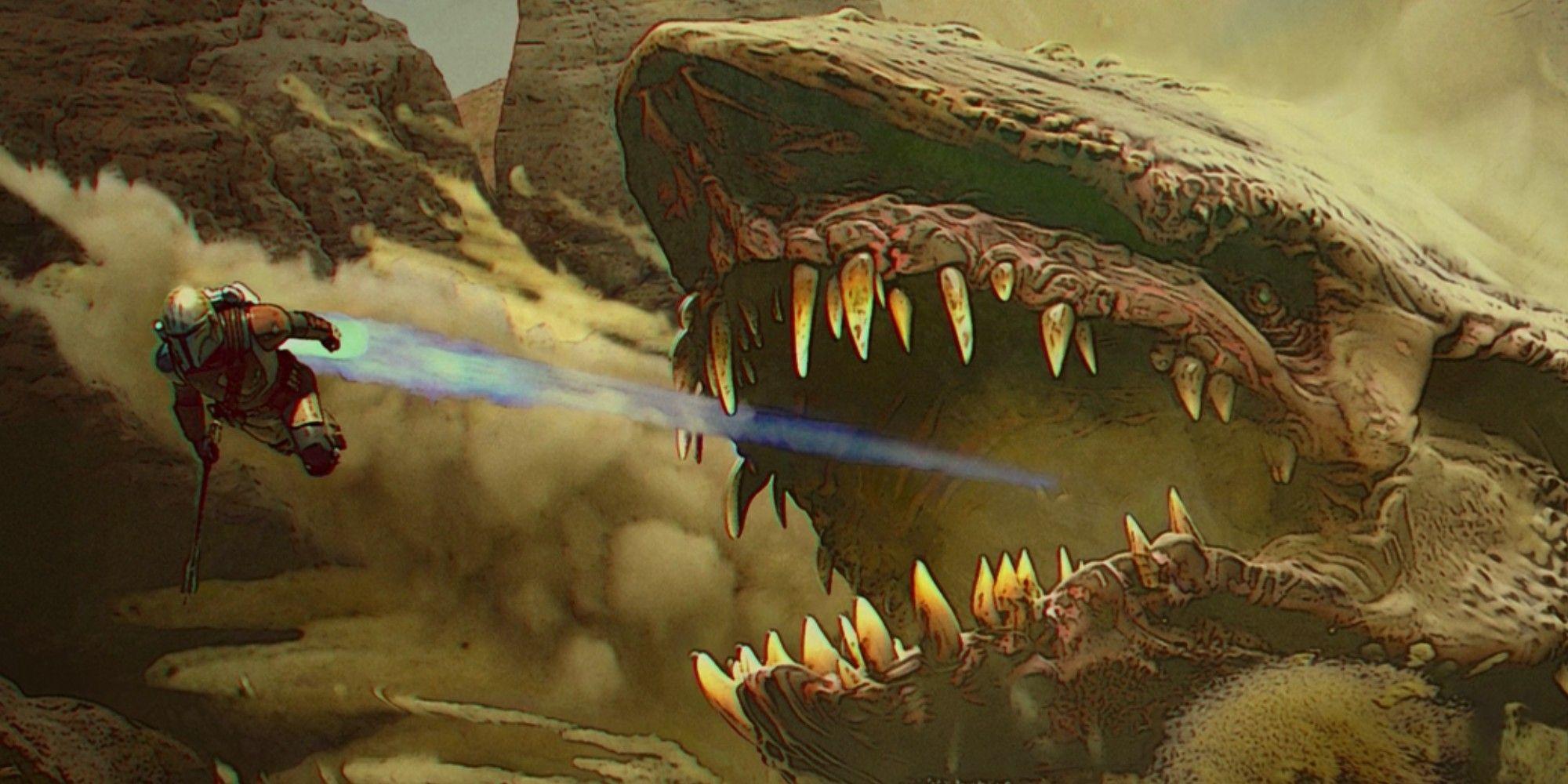 Krayt Dragons Explained: Mandalorian Season 2's Star Wars OT Monster