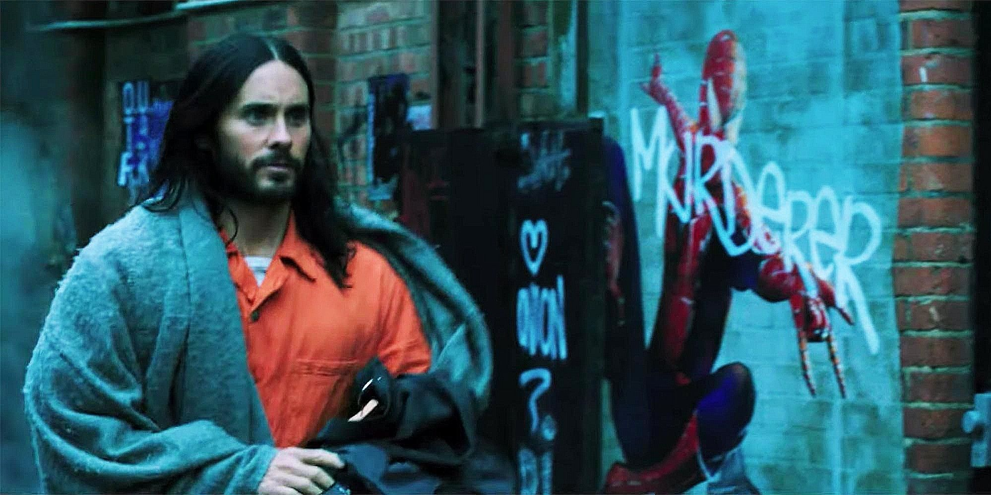 Morbius Video Reveals How Jared Leto Swings Between Buildings (Not Like Spider-Man)