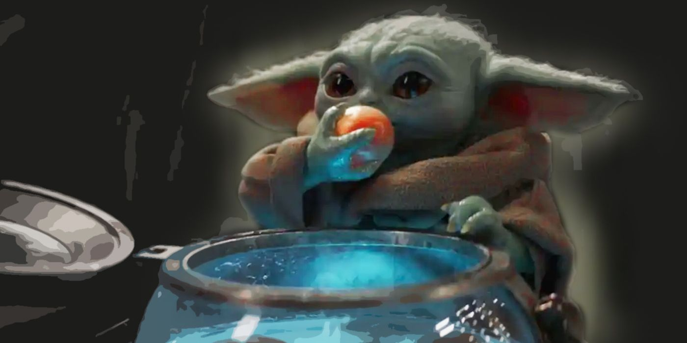 The Mandalorian: In Defense of Baby Yoda Eating Frog Lady ...