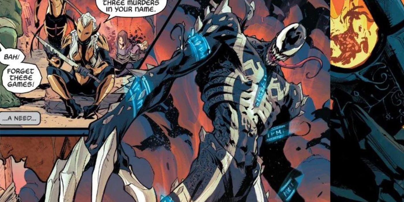 Web of Venom lança o ataque simbionte mais intenso da Marvel 1