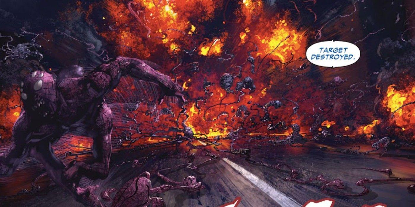 Web of Venom lança o ataque simbionte mais intenso da Marvel 2