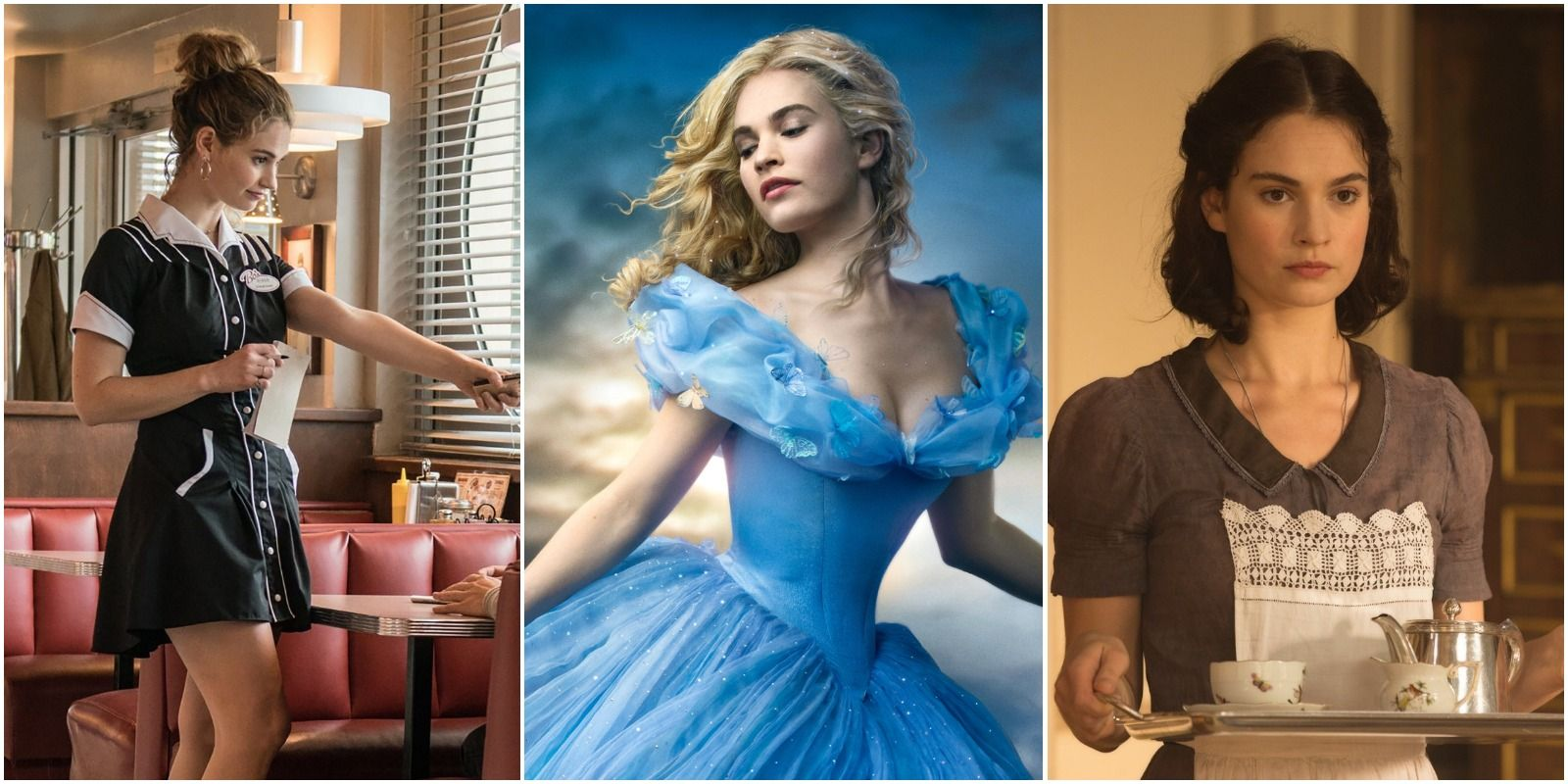 Lily James S 10 Best Movies According To Imdb Screenrant