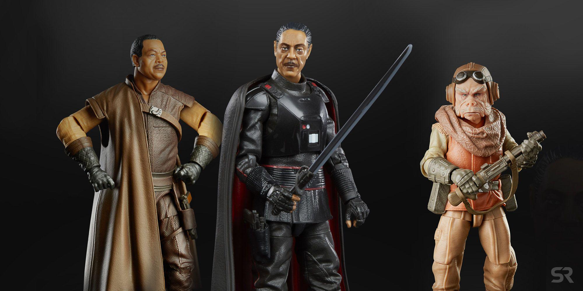 Action Figure da 15 cm Ispirato alla Serie The Mandalorian Personaggio da Collezione da 15 cm Star Wars The Black Series F1305 Greef Karga