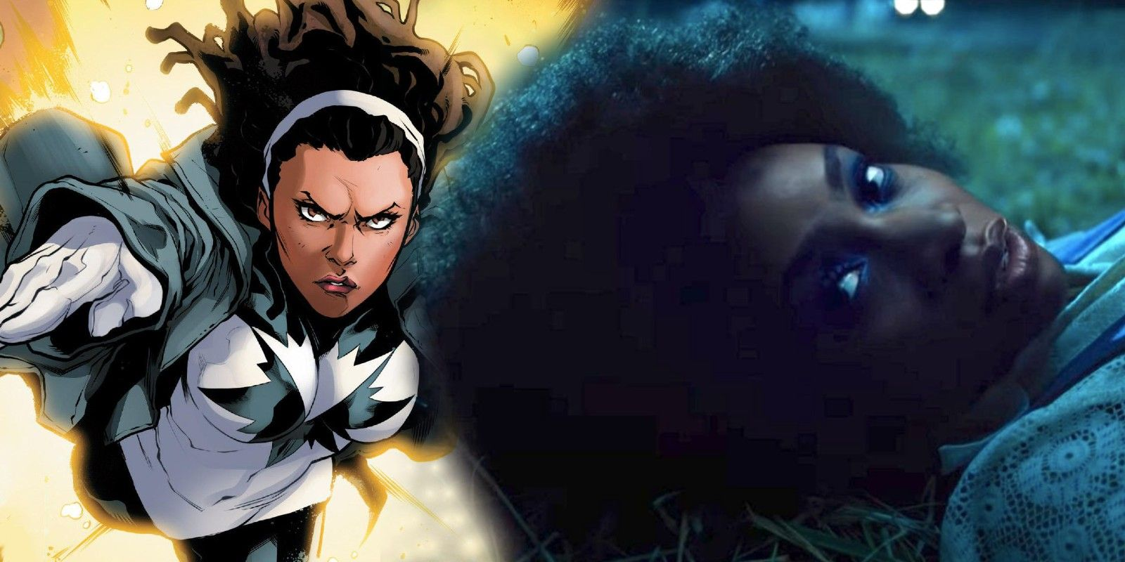 First Look At Monica Rambeau S Spectrum Suit From Marvel S Wandavision By caitlyn becker for dailymail.com. spectrum suit from marvel s wandavision