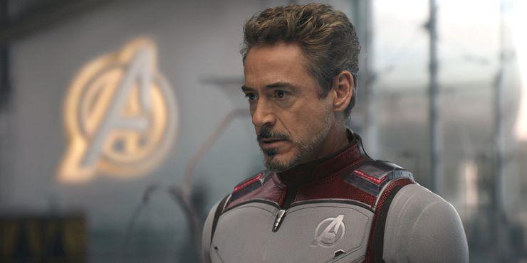 Tony Stark in Avengers Endgame