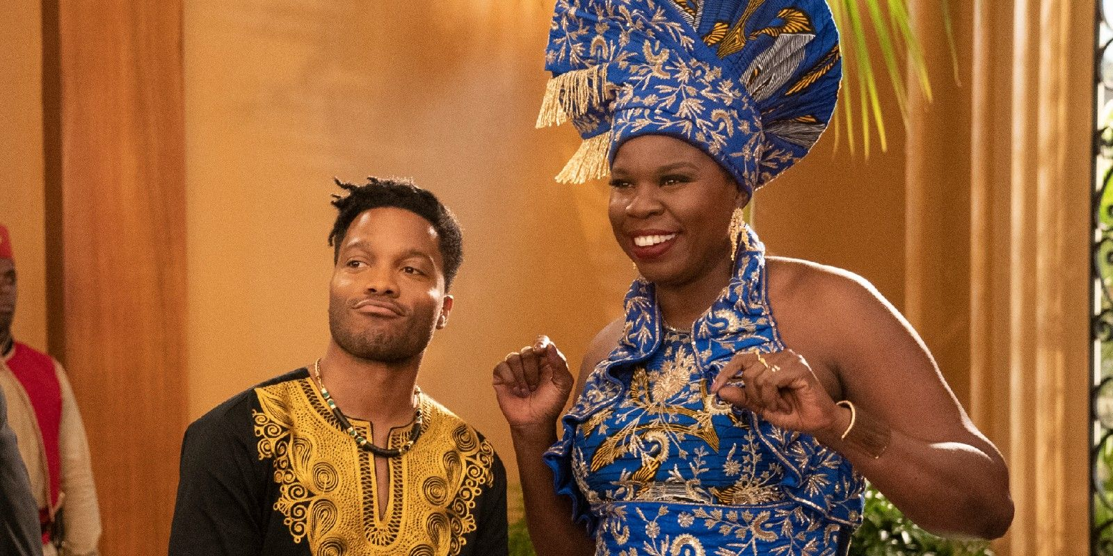 Coming to America 2 Images Introduce Tracy Morgan, Leslie Jones' Characters