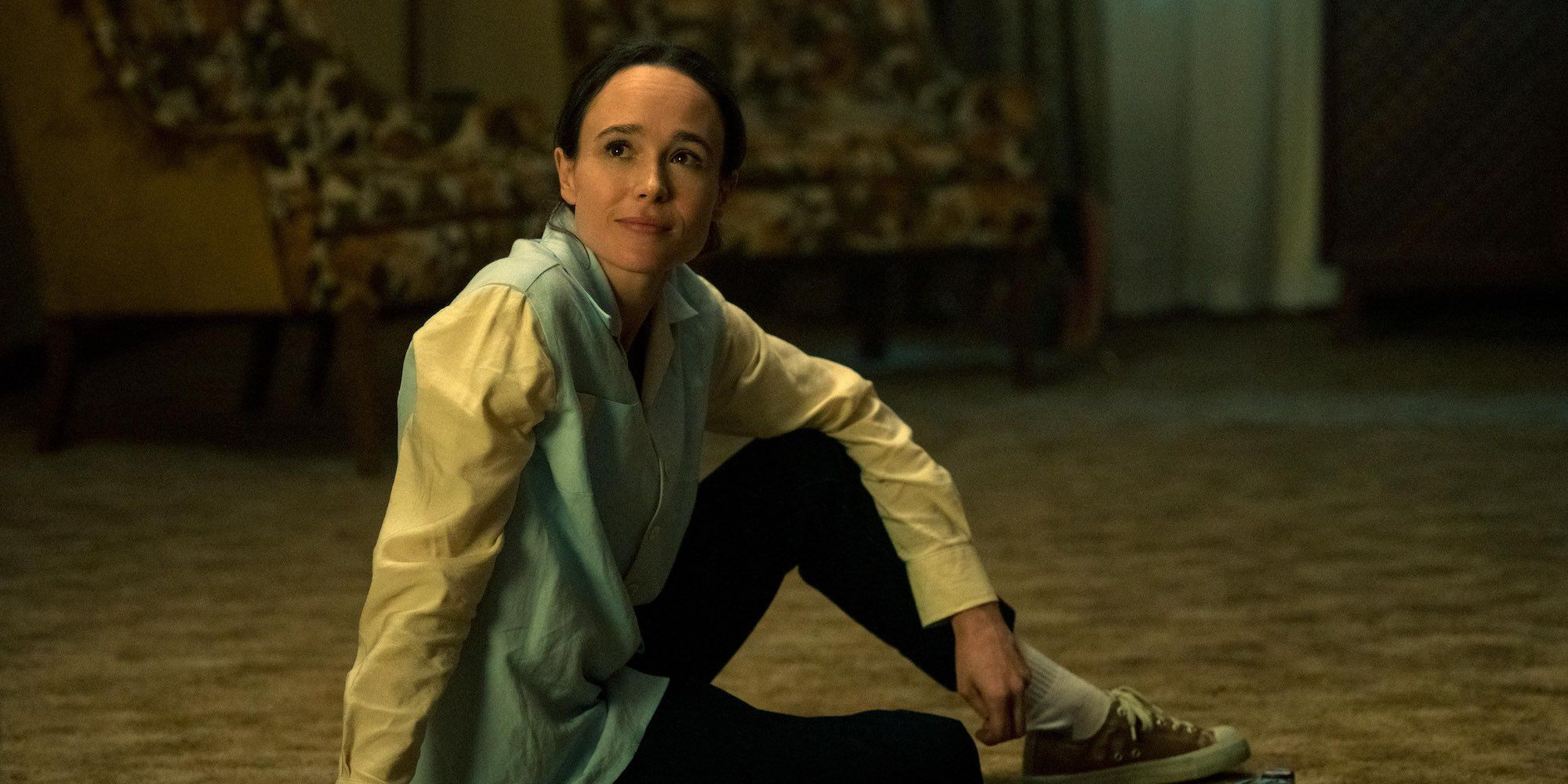 Elliot Page as Vanya in The Umbrella Academy Season 2