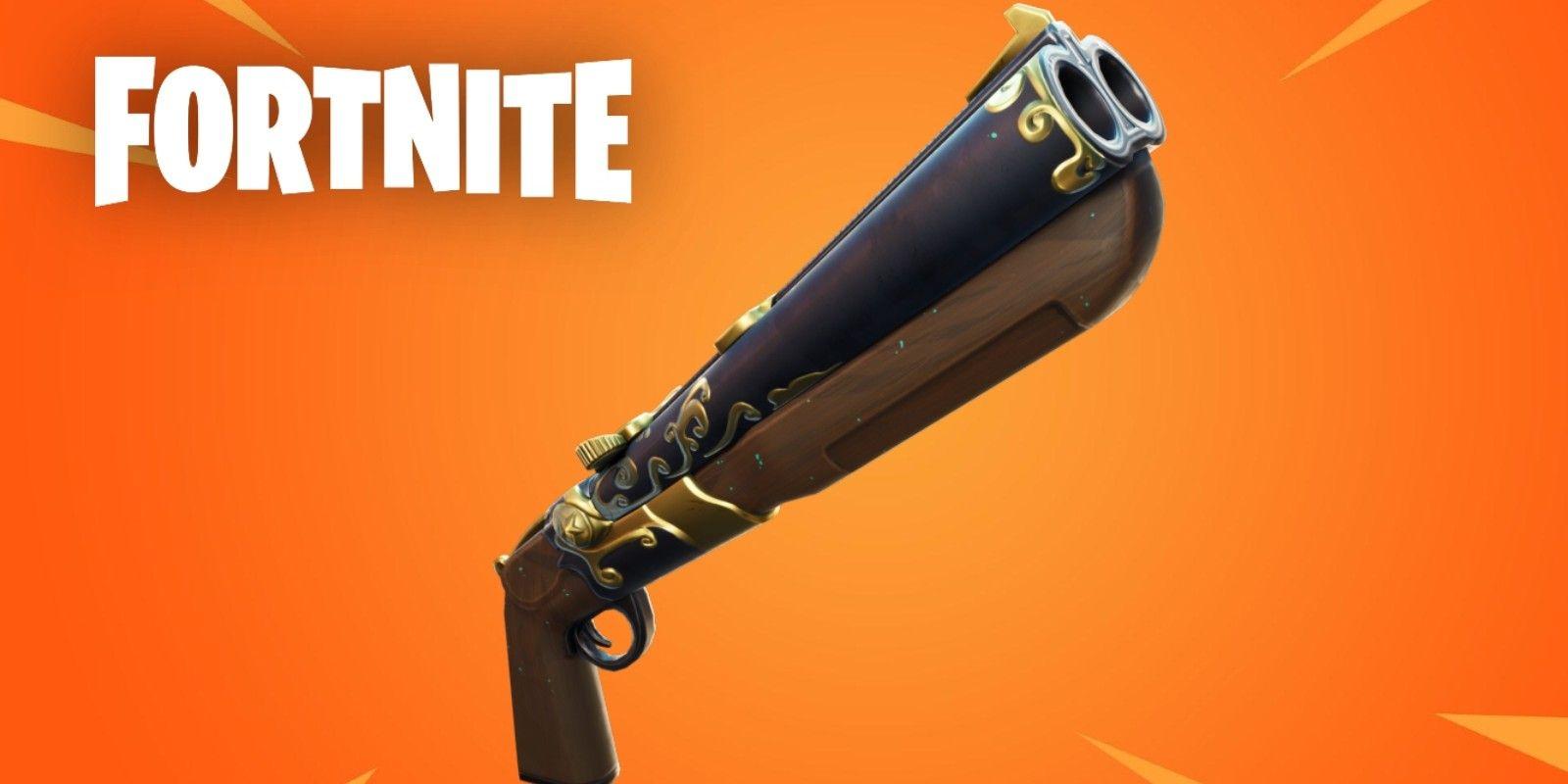 New Fortnite Double Barrel Shotgun How To Get The Double Pump Shotgun In Fortnite Screen Rant