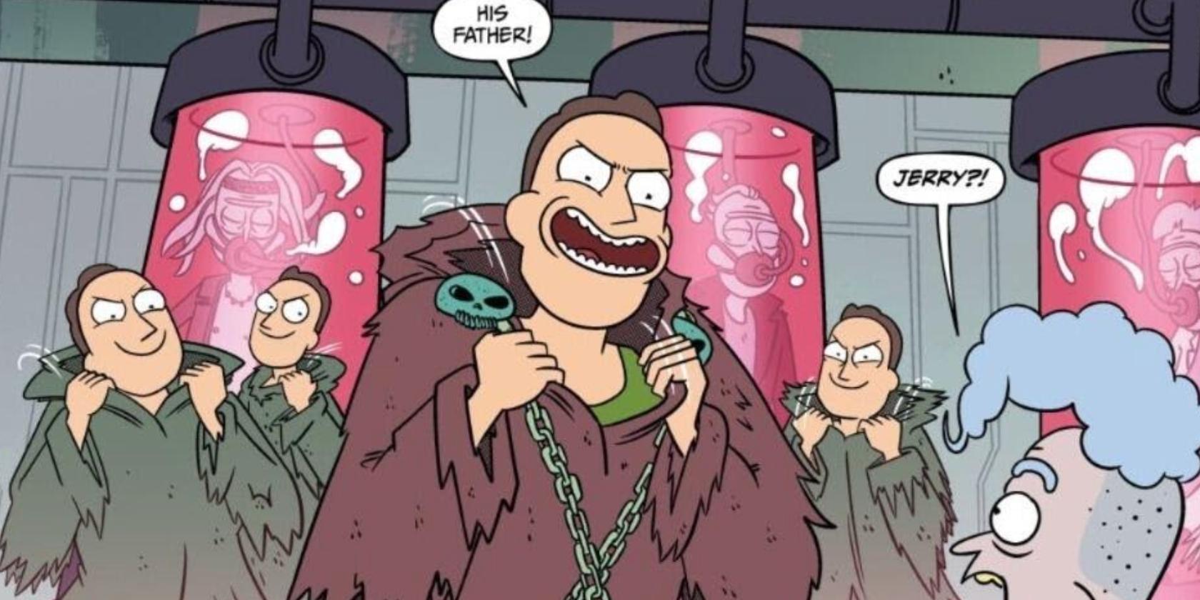 Rick e Morty: Jerry tentou governar o universo da maneira mais idiota 1