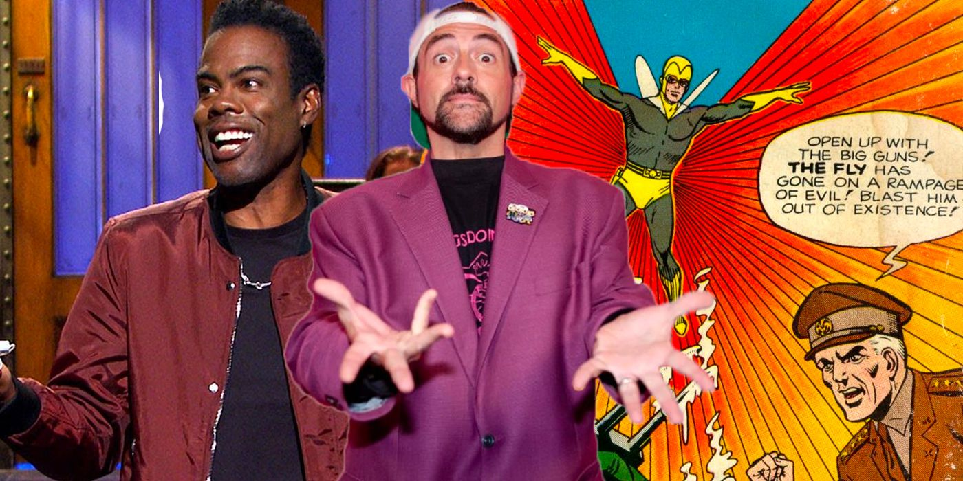 Kevin Smith Was Asked To Direct A Superhero Movie Starring Chris Rock In the 2000s