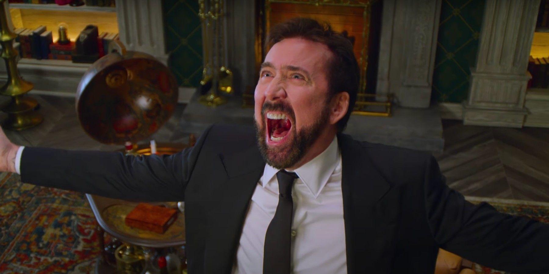 History of Swear Words Trailer: Nicolas Cage Recreates Iconic Deadfall Meltdown