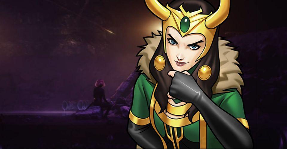 Is Black Widow In The Loki Trailer? Marvel Teases Lady Loki