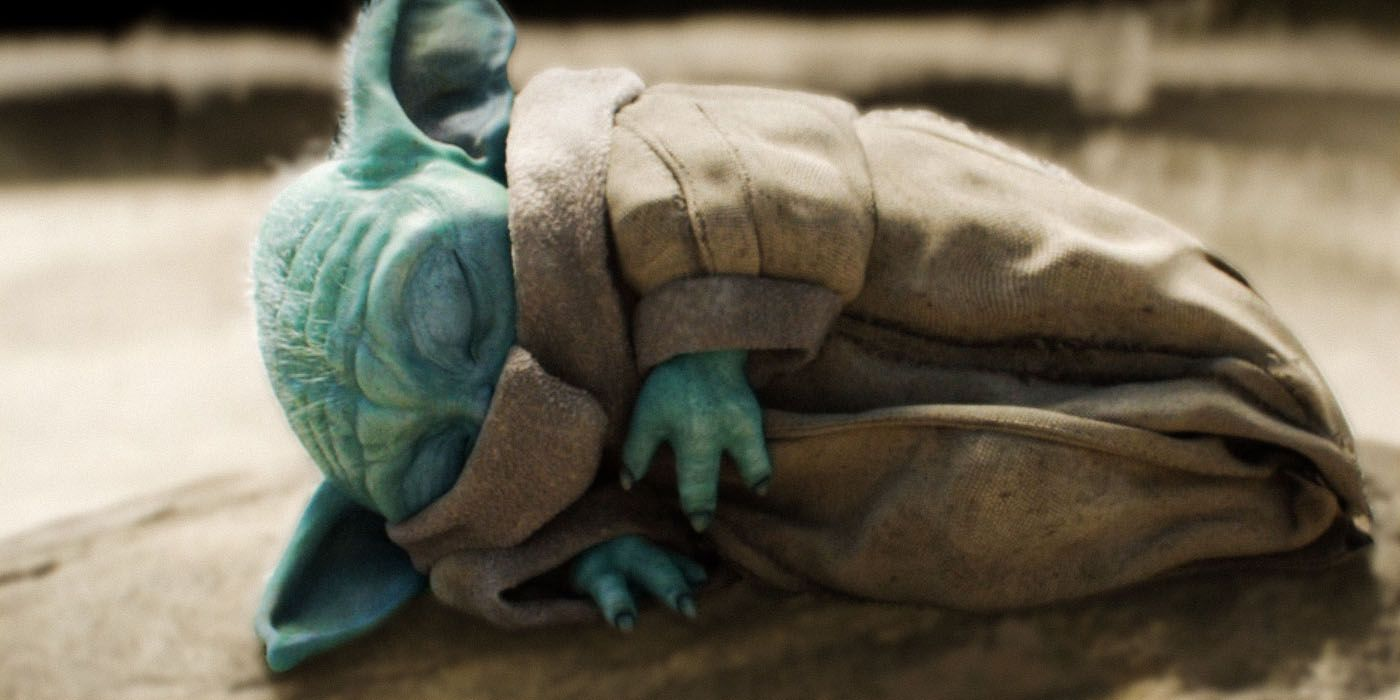 Why Baby Yoda Gets So Tired After Using The Force | Screen Rant