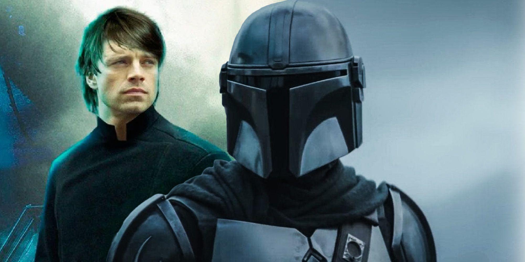The Mandalorian Deepfake shows Sebastian Stan as Luke Skywalker