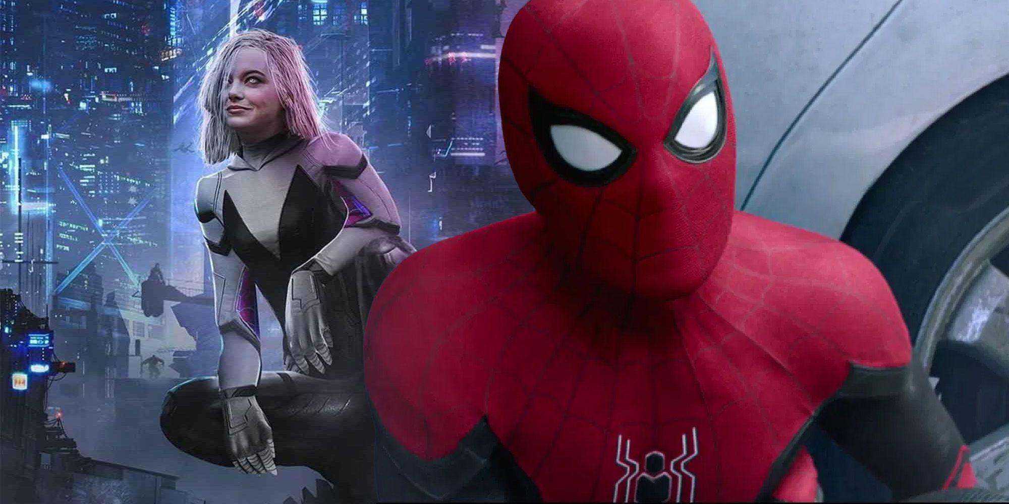 Theory: Spider-Man 3 Sets Up Emma Stone's Spider-Gwen In MCU