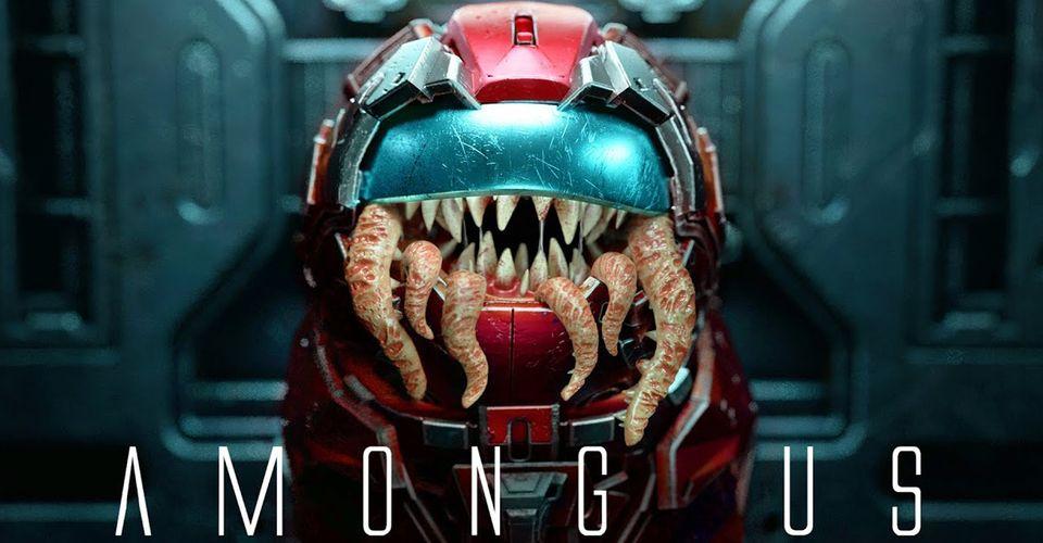Among Us Impostor S Terrifying Origin Shown In 3d Short Film Sequel