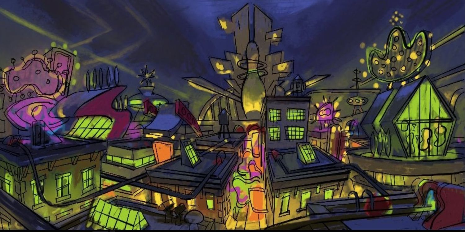 Psychonauts 2 characters and locations highlighted in the new concept