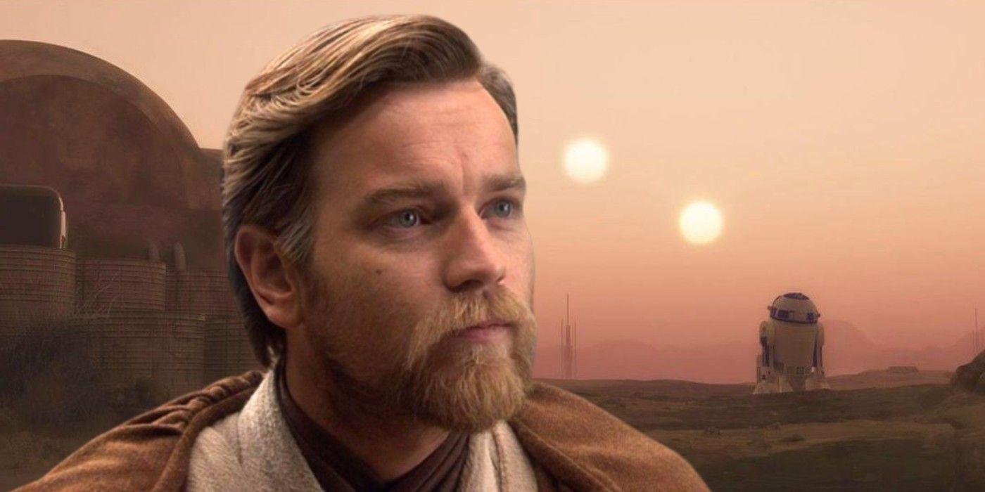 Obi-Wan Kenobi Set Photos Show Massive Alien Planet Set