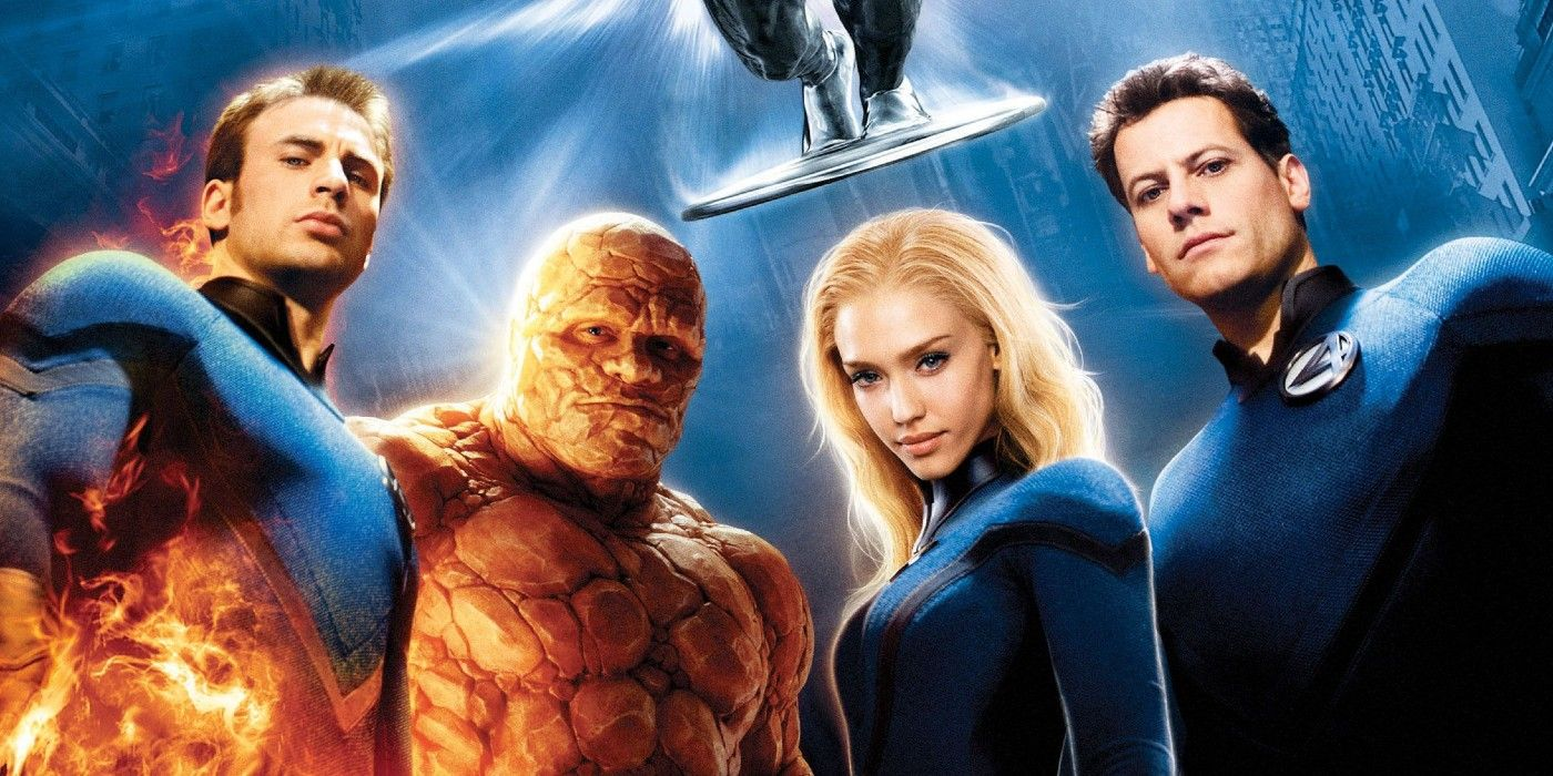 Fantastic 4 Rise of the Silver Surfer Poster Reimagined as a Marvel Comic Cover