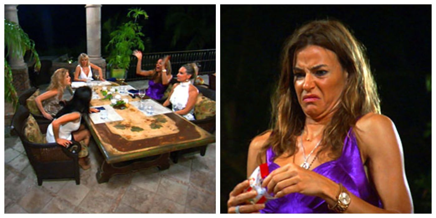 The Real Housewives: 10 Scenes That Live Rent Free In Every Fan's Head