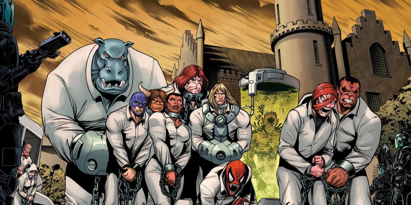 Marvel's Version of Arkham Asylum is a Mistake | Screen Rant