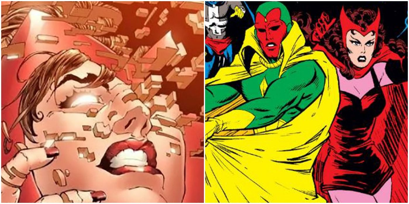 Image result for 10 Marvel Characters Scarlet Witch Had A Relationship With