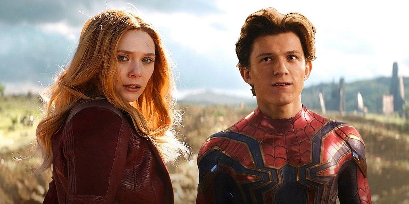 MCU Spider-Man 3: Elizabeth Olsen Teases Scarlet Witch May Appear