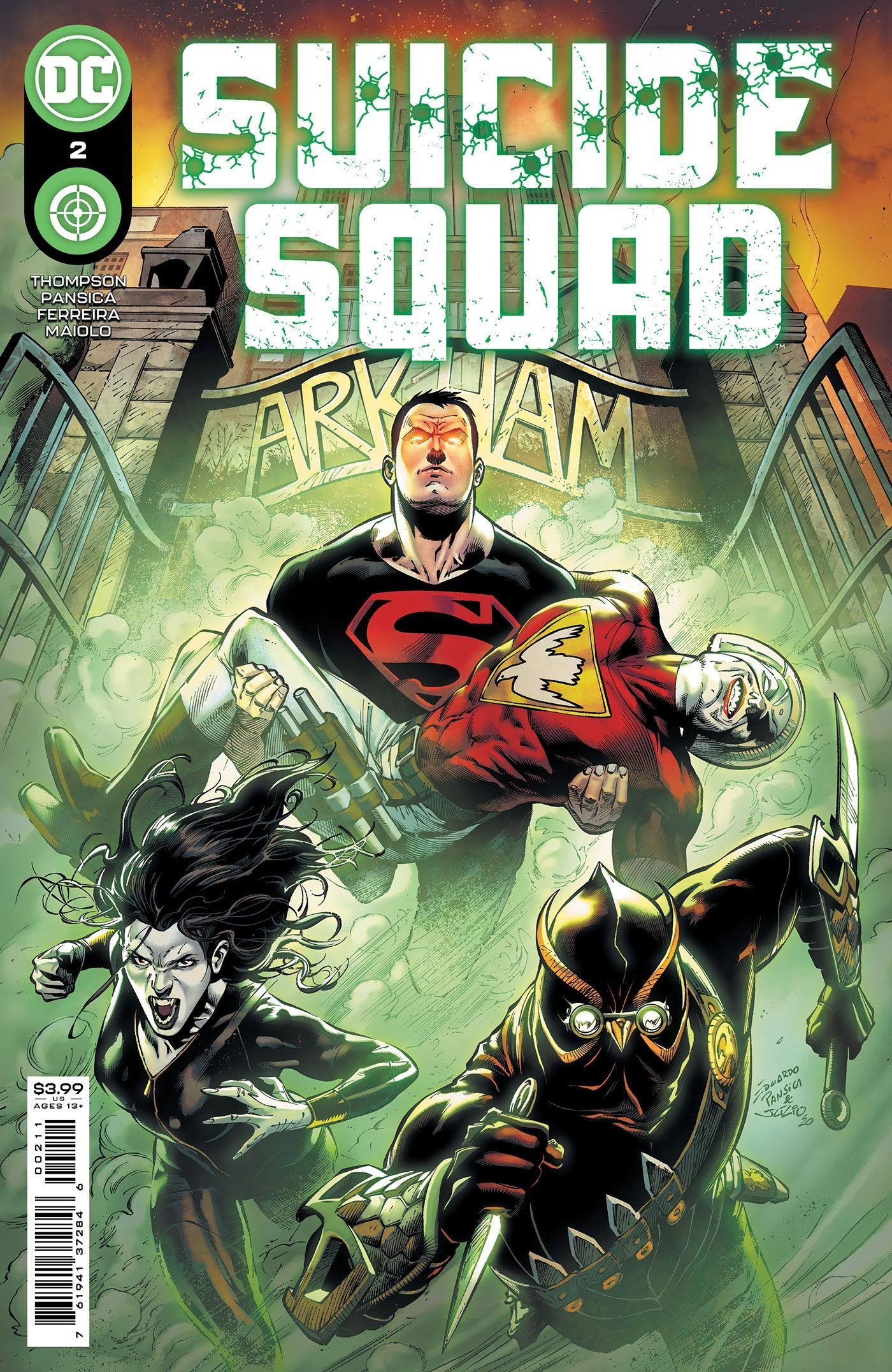 Superboy está construindo o novo esquadrão suicida da DC 1