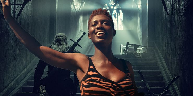 The Witcher Blood Origin Cast Jodie Turner-Smith Eile