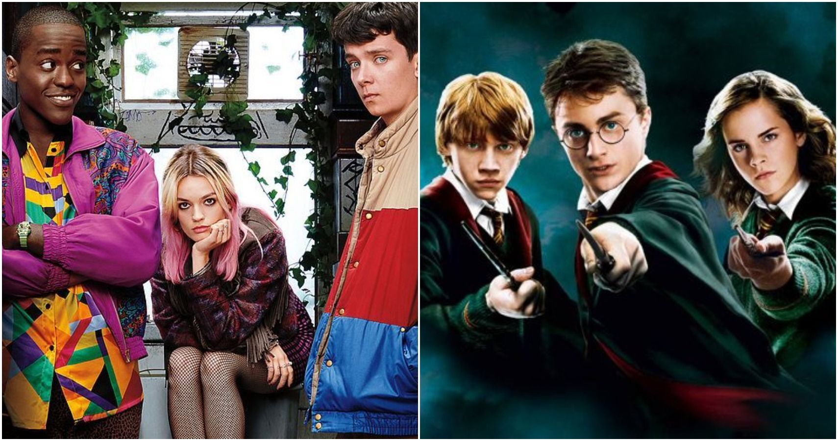 Sex Education Characters & Their Harry Potter Counterparts