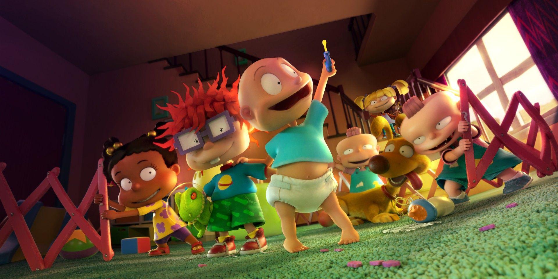 Rugrats Reboot Video Reveals CGI Character Redesign | Screen Rant