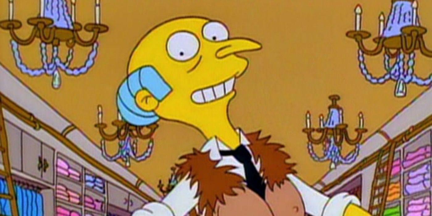 Os Simpsons: 10 detalhes que você perdeu sobre o Sr. Burns 6