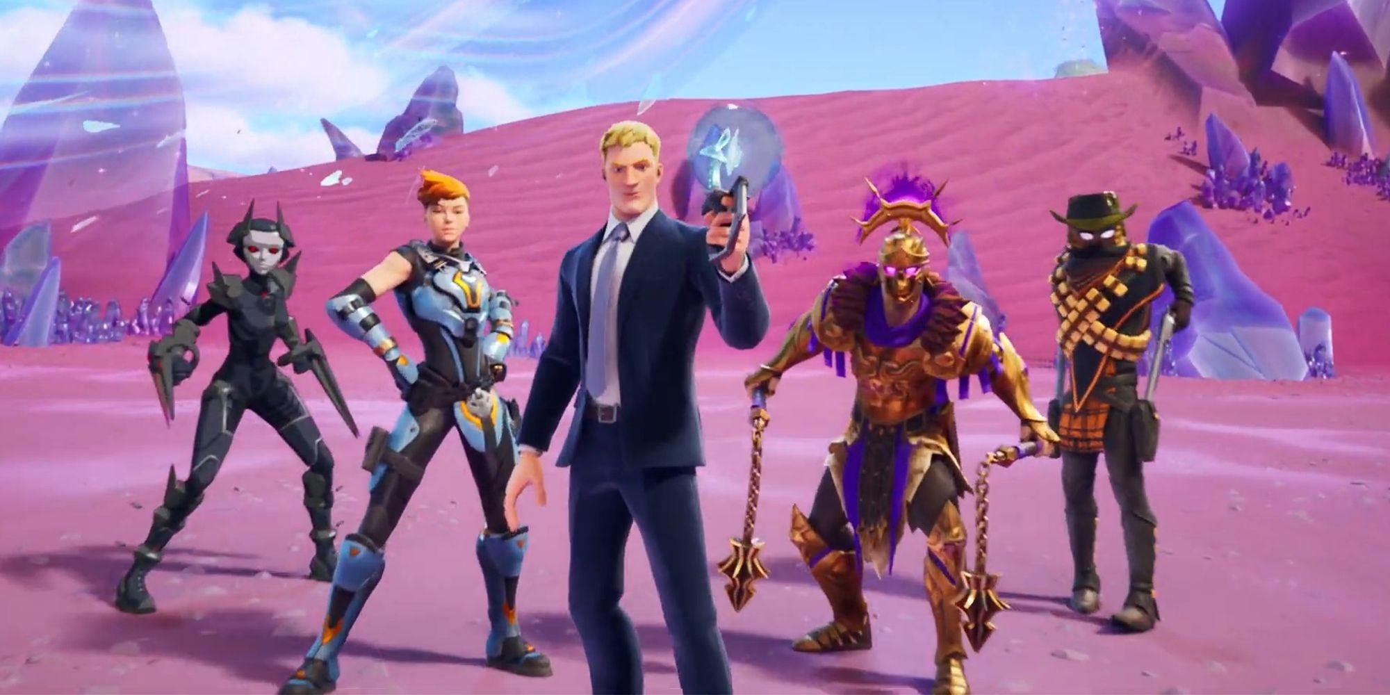 Fortnite Chapter 2 Level Boosting Fortnite Season 5 Every Week 15 Epic Challenge Screen Rant